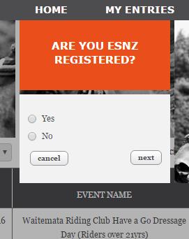 ESNZ Registered?